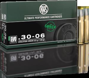 RWS 30-06 evo green